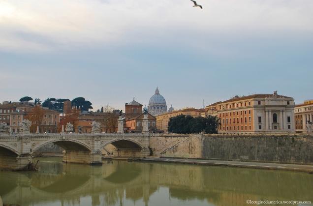 Roma San Pietro Skyline